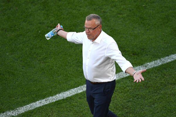 Главный тренер сборной Швеции по футболу Янне Андерссон