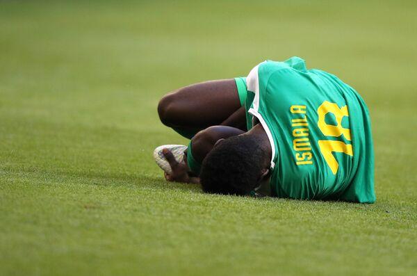 Форвард сборной Сенегала Исмаила Сарр