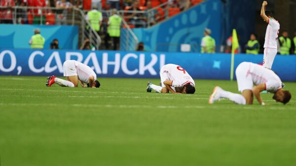 Футболисты сборной Туниса