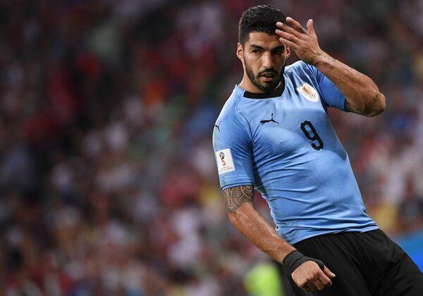 Нападающий сборной Уругвая Луис Суарес