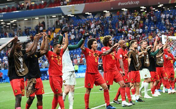 Игроки сборной Бельгии