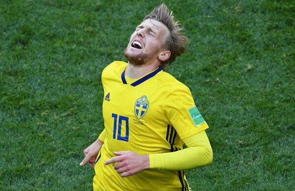 Шведский футболист Эмиль Форсберг