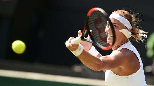 Чешская теннисистка Петра Квитова