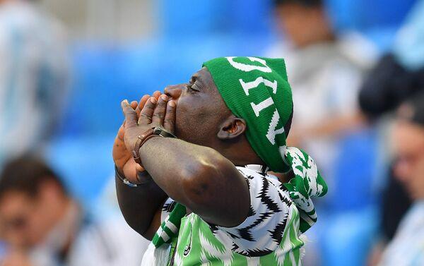 Болельщик сборной Нигерии