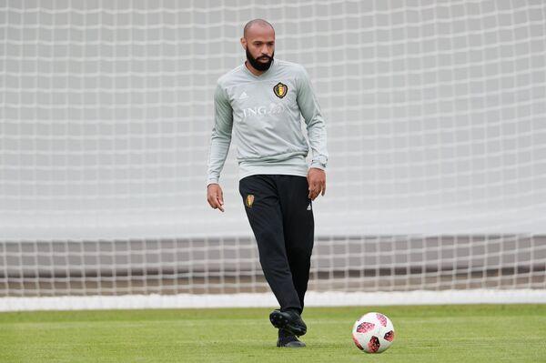 Тренер сборной Бельгии Тьерри Анри