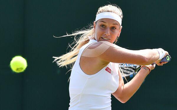 Французская теннисистка Ализе Корне
