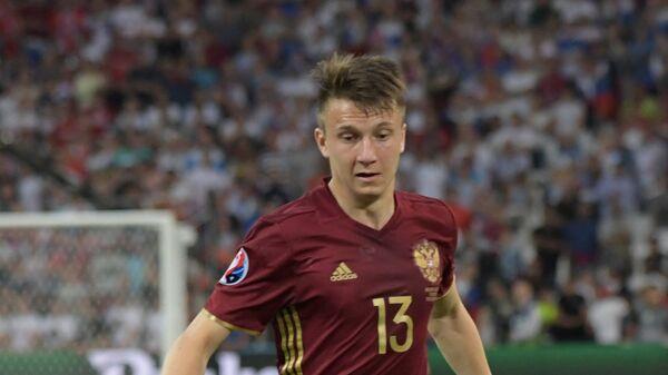 Футболист сборной России Александр Головин