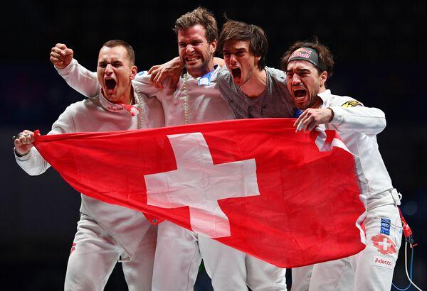 Мужская сборная Швейцарии по фехтованию на шпагах