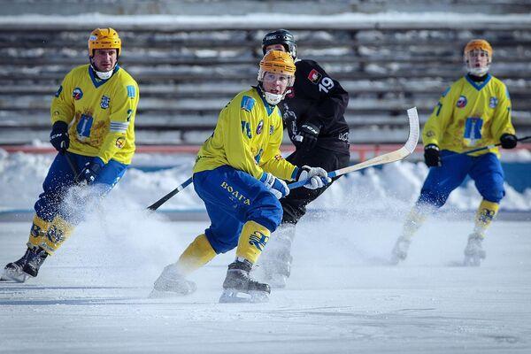 Хоккеисты ульяновской Волги