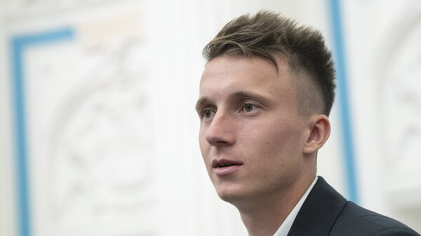 Футболист ФК Монако Александр Головин