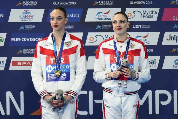 Светлана Колесниченко и Варвара Субботина