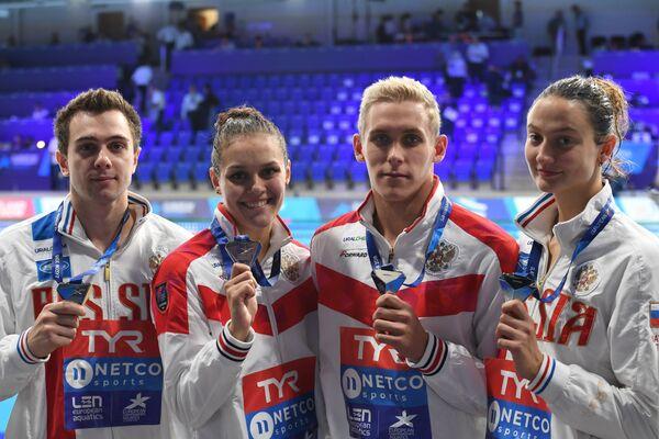 Российские пловцы