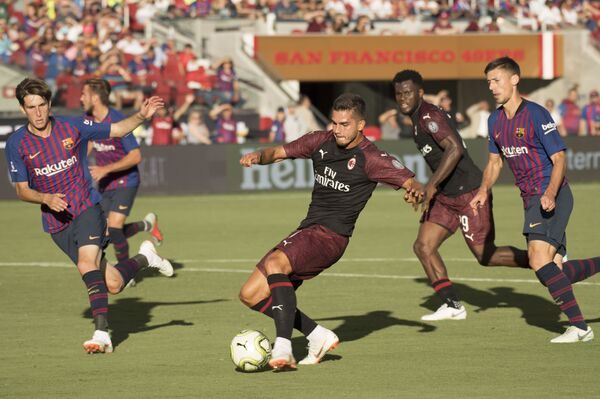 Матч Международного кубка чемпионов Милан - Барселона
