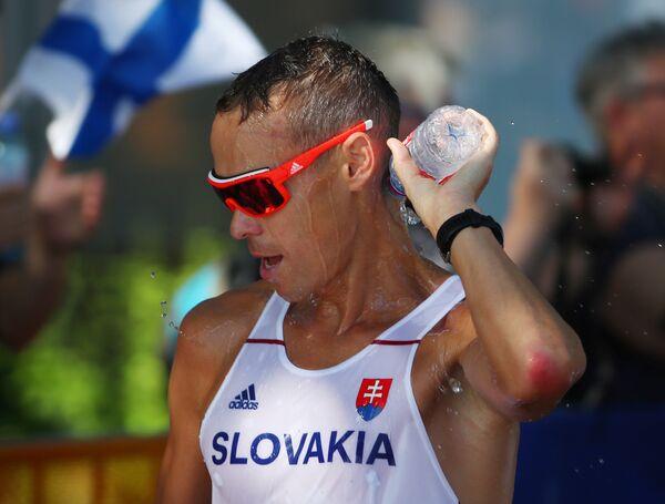 Словацкий атлет Матей Тот