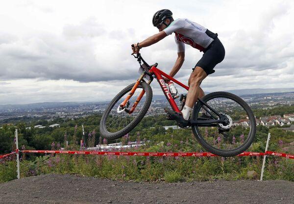 Швейцарский велогонщик Ларс Форстер