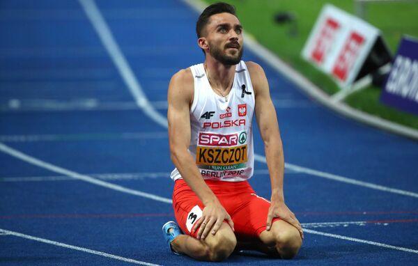 Польский легкоатлет Адам Кщот
