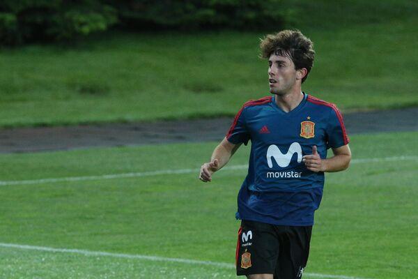 Футболист сборной Испании Альваро Одриосола