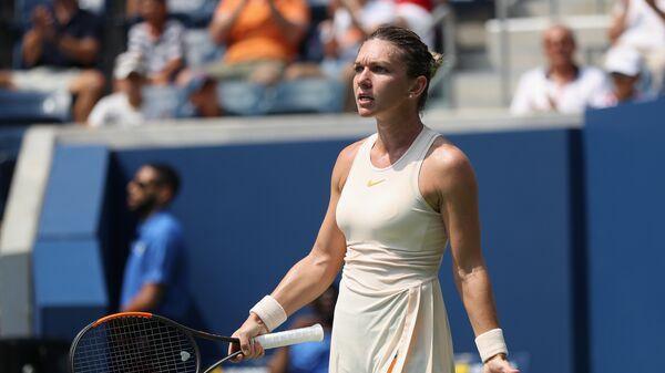 Симона Халеп на матча US Open