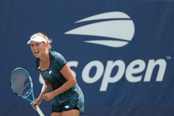 Элизе Мертенс на US Open