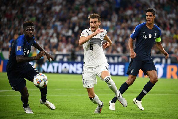 Матч Франция - Германия