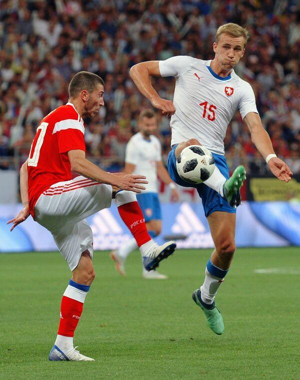 Слева направо: Алексей Ионов (Россия) и Томаш Соучек (Чехия)