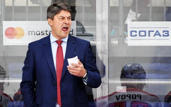 Главный тренер Автомобилиста Андрей Мартемьянов
