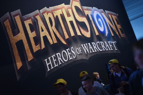 Логотип игры Hearthstone