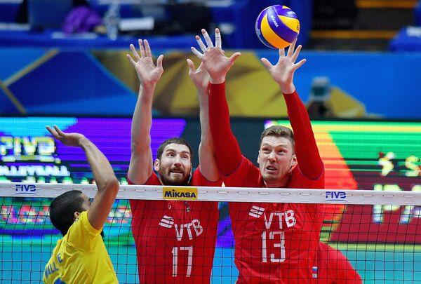 Эпизод матча Бразилия - Россия