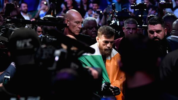 Конор Макгрегор перед боем с Хабибом Нурмагомедовым за титул чемпиона UFC в легком весе