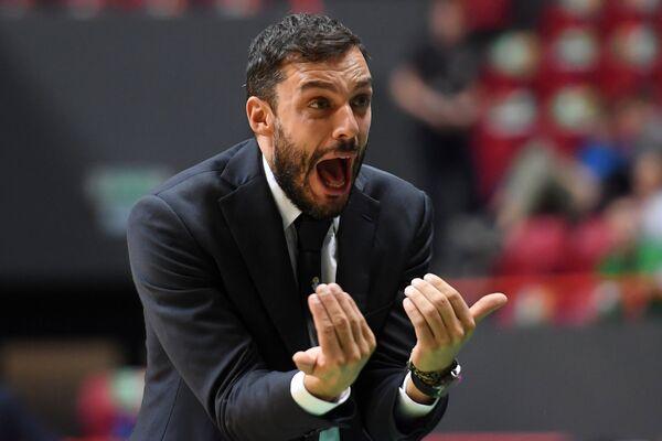 Главный тренер БК Торино Паоло Галбиати