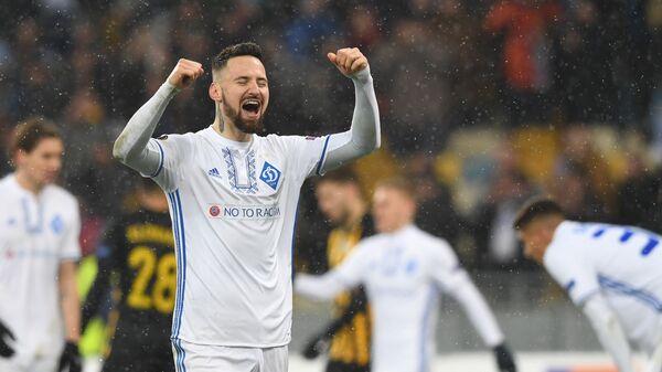 Защитник киевского Динамо Тамаш Кадар