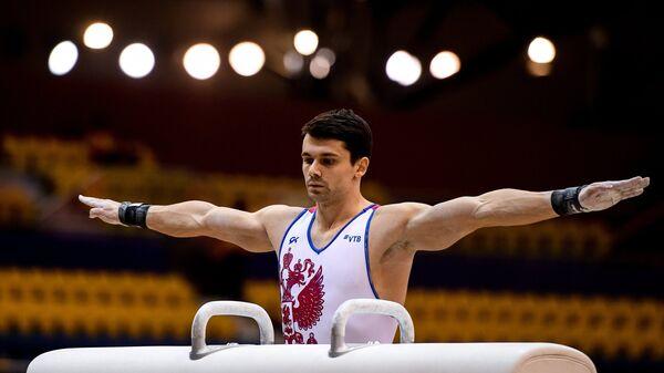 Российский гимнаст Николай Куксенков