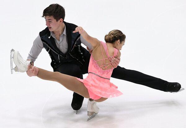Дарья Павлюченко и Денис Ходыкин