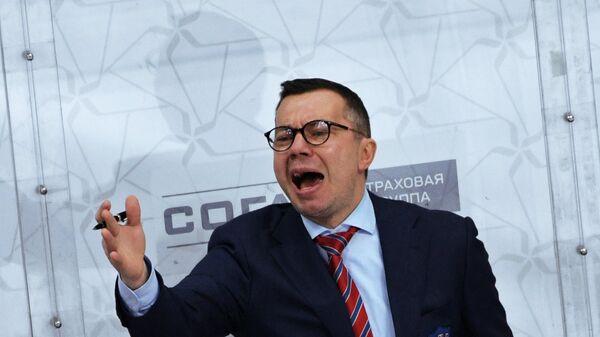 Главный тренер СКА Илья Воробьёв