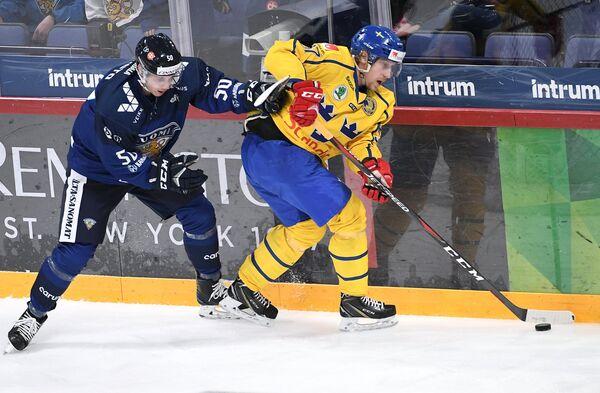 Хоккей. Кубок Карьяла. Матч Финляндия - Швеция