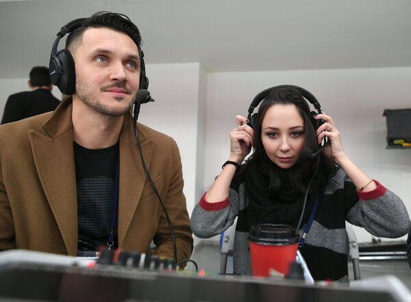 Максим Траньков и Елизавета Туктамышева