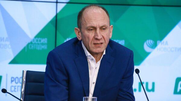 Первый вице-президент Союза биатлонистов России Алексей Нуждов
