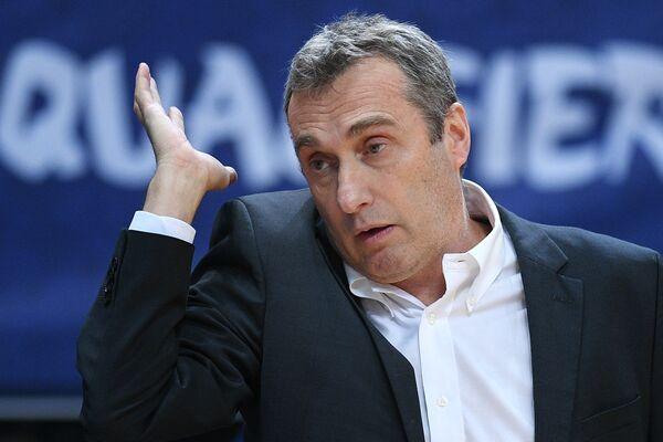 Главный тренер сборной Чехии по баскетболу Ронен Гинзбург