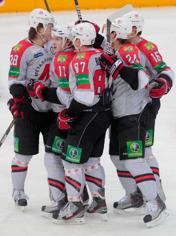 Хоккеисты Металлург (Новокузнецк)