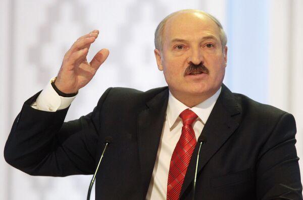 Первая после выборов пресс-конференция Александр Лукашенко