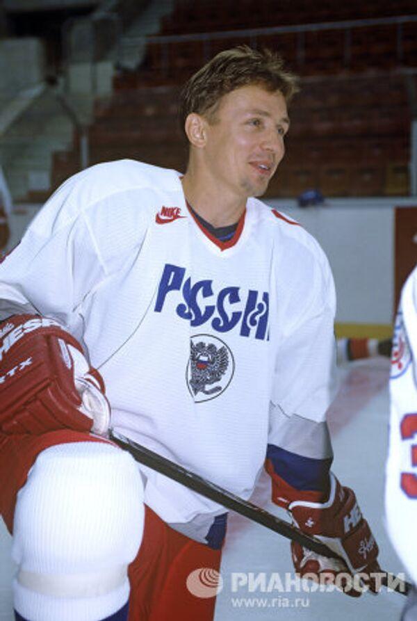 Хоккеист Игорь Ларионов