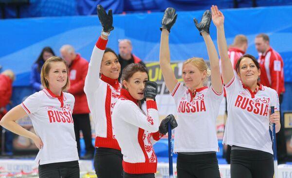 Керлингистки сборной России