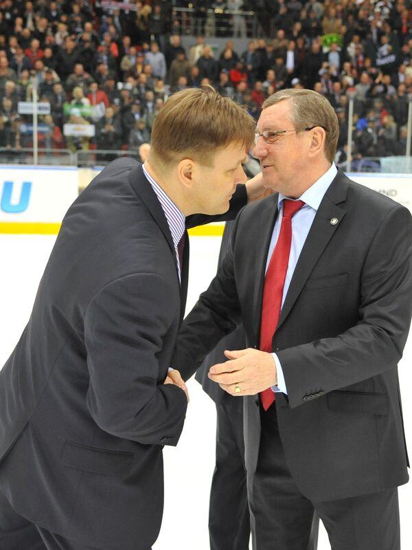 Раймо Сумманен и  Валерий Белоусов