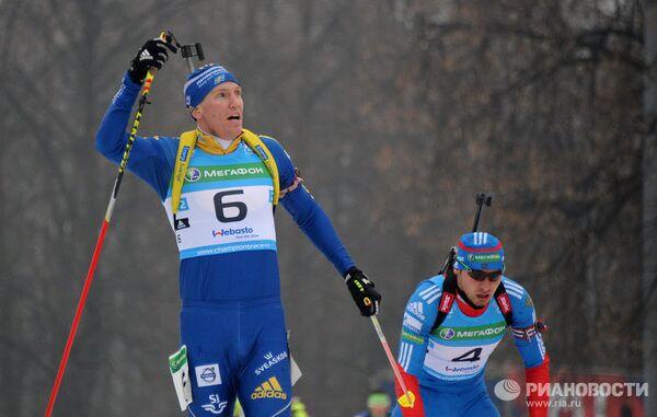 Бьорн Ферри и Антон Шипулин (слева направо)