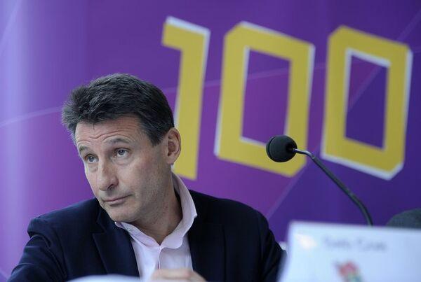 Глава LOCOG Себастьян Коу участвует в мероприятиях, приуроченных к отсчету 100 дней до Олимпиады