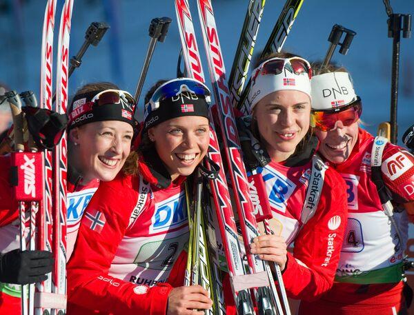 Женская сборная Норвегии по биатлону