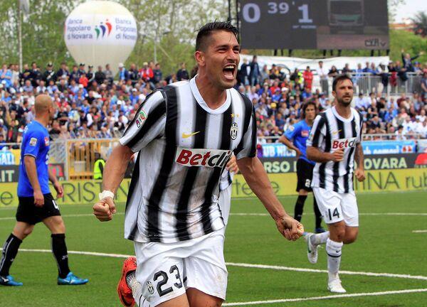 Итальянский футболист Марко Боррьелло