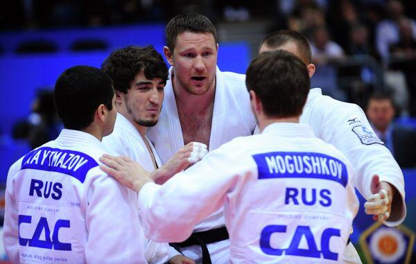 Спортсмены мужской сборная России по дзюдо