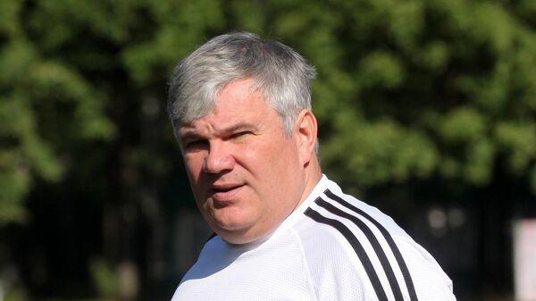 Старший тренер женской сборной России по современному пятиборью Алексей Хапланов