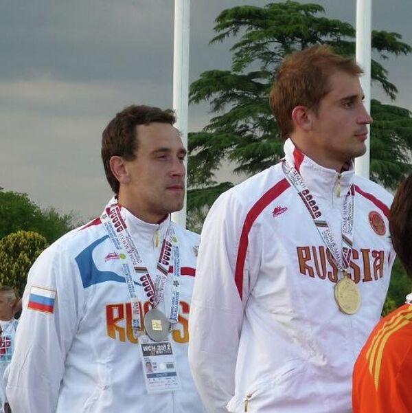 Андрей Моисеев и Александр Лесун (слева направо)